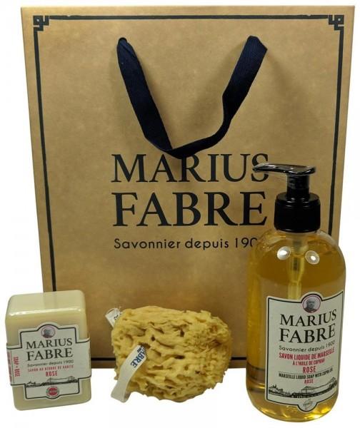 Marius Fabre Savon de Marseille JADINERIE 1900 Geschenk-Set