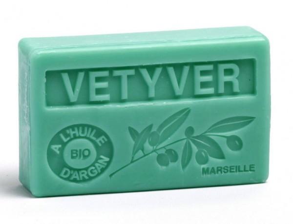 Bio-Arganöl Seife - Vetyver - 100g