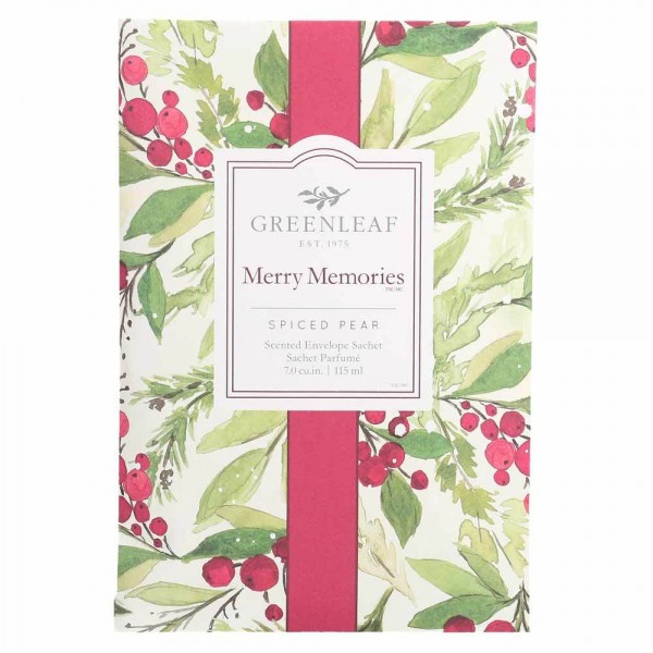 Greenleaf Duft Sachet Large - Merry Memories - Duftsäckchen