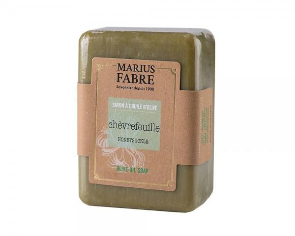 Marius Fabre Bio-Olivenöl Seife Geißblatt (Chèvrefeuille) ohne Palmöl - 150g