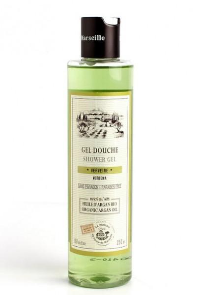 Provence Duschgel Verveine (Zitronenverbene) mit Bio-Arganöl - 250ml