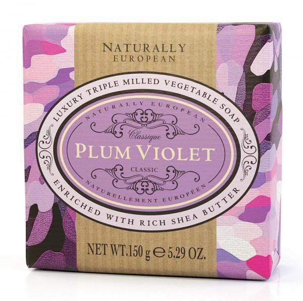 Naturally European Seife Plum Violet 150g