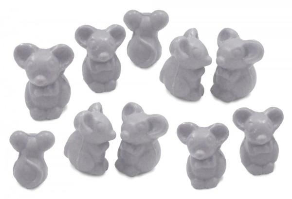 10 x Seife Maus Grau Himbeere (Framboise) Kinderseife Tierseife Motivseife 10x25g