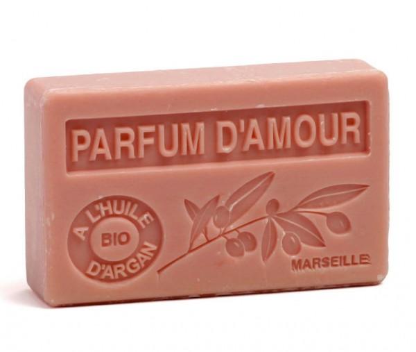 Bio-Arganöl Seife - Parfum d'Amour (Duft der Liebe) - 100g