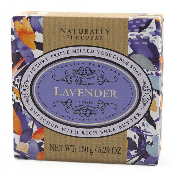 Naturally European Seife Lavender 150g