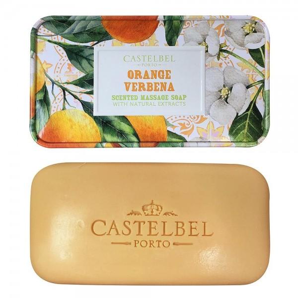 Castelbel Seife Smoothie Orange Verbena (Orange & Eisenkraut) Olivenöl-Seife - 180g