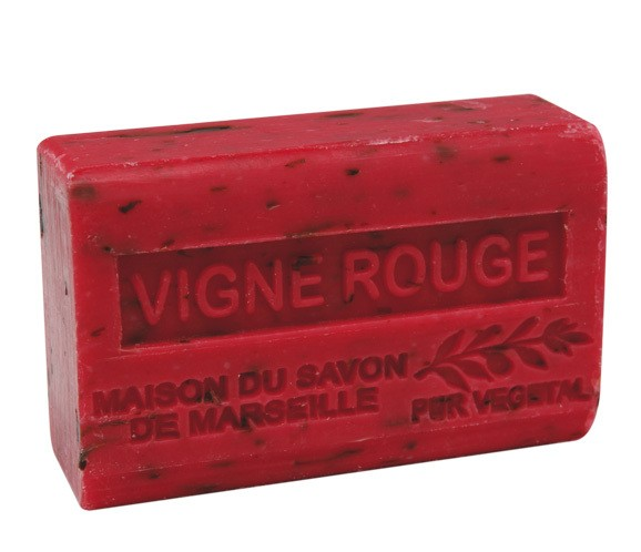 Provence Seife Vigne Rouge (Rotes Weinlaub) - Karité 125g