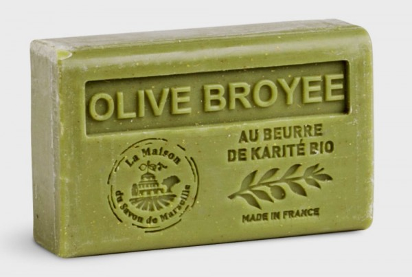 Provence Seife Olive Broyee (Olive) - Karité 125g