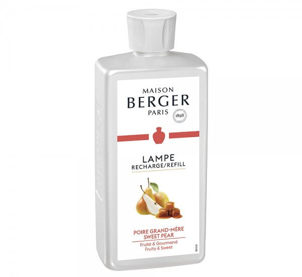 Lampe Berger Duft Süße Birne mit Vanille (Poire Grand-Mère) - 500 ml