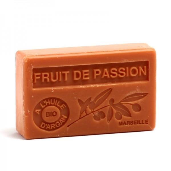 Bio-Arganöl Seife Fruit de Passion (Passionsfrucht) - 100g