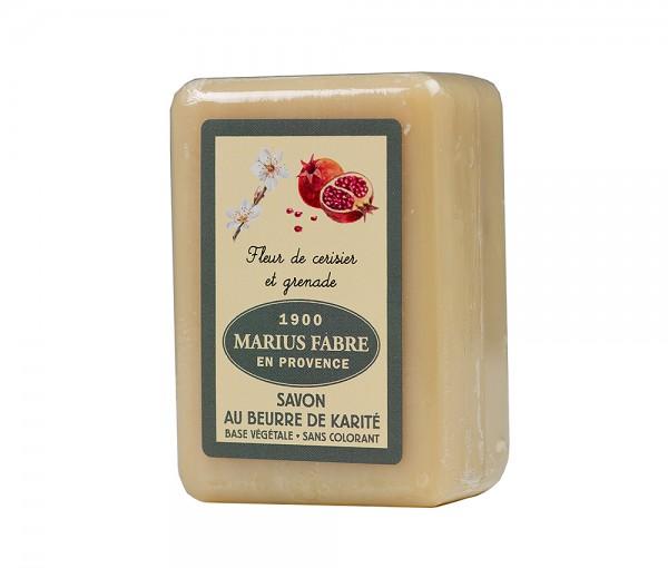 Marius Fabre Seife Kirschblüte & Granatapfel (Fleur de Cerisier) Shea-Butter - 150g