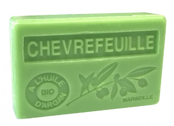 Bio-Arganöl Seife Chevrefeuille (Geißblatt) - 100g