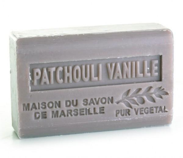 Provence Seife Patchouli Vanille (Patschuli Vanille) - Karité 125g
