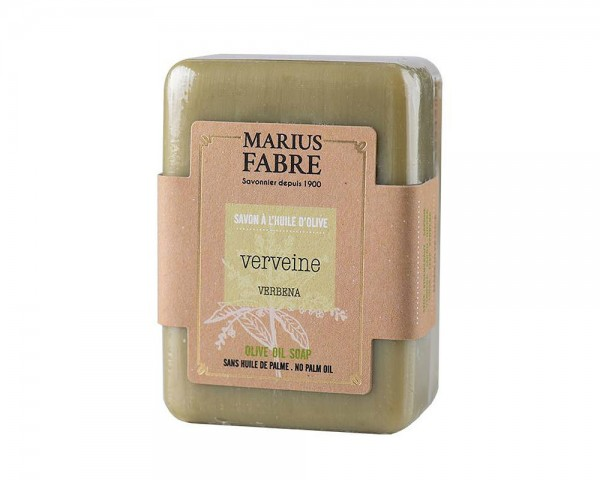 Marius Fabre Bio-Olivenöl Seife Eisenkraut (Verveine) ohne Palmöl 150g