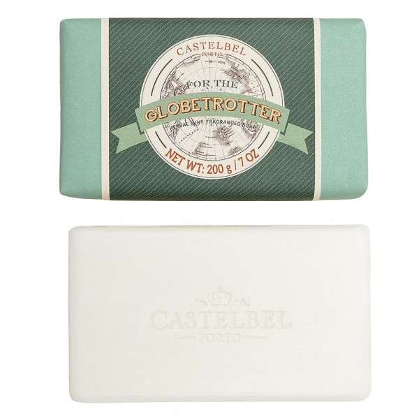 Castelbel Seife Lifestyle for Men Globetrotter Herbal Mint Olivenöl-Seife - 200g