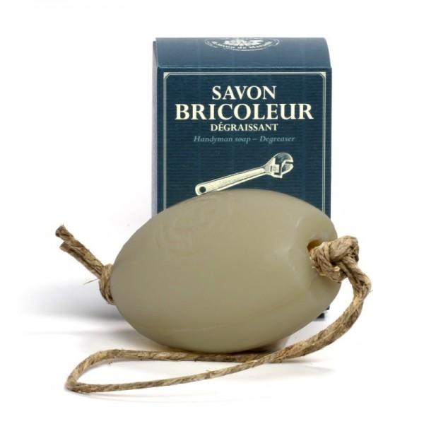 Savon Bricoleur (Handwerkerseife) 270g - auch für Nostalgie Seifenhalter
