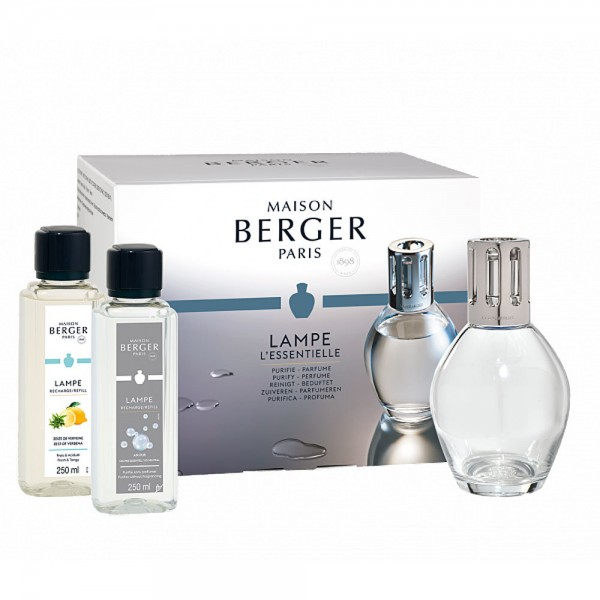 Maison Berger Starter Set Essentielle Oval inkl. 250ml Duft und Neutrale Essenz