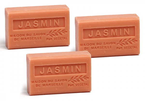 3 x Provence Seife Jasmin - Karité - a`60g