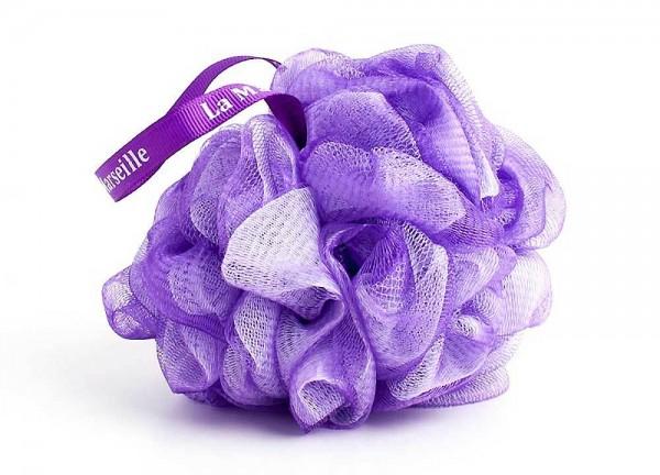 Duschblume Fleur de Douche Violet Duschschwamm Badeschwamm 12cm