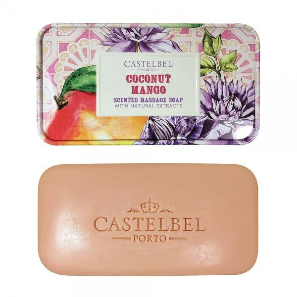 Castelbel Seife Smoothie Coconut Mango (Kokosnuss & Mango) Olivenöl-Seife - 180g