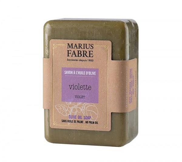 Marius Fabre Bio-Olivenöl Seife Veilchen (Violette) ohne Palmöl 150g