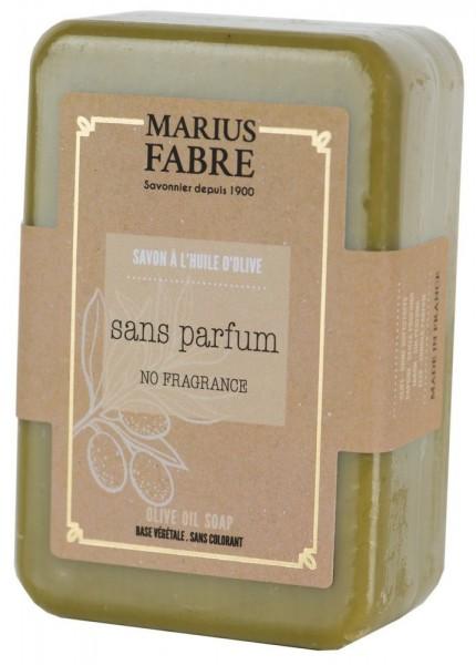 Marius Fabre Bio-Olivenöl Seife Parfümfrei (Sans Parfum) Shea-Butter 150g