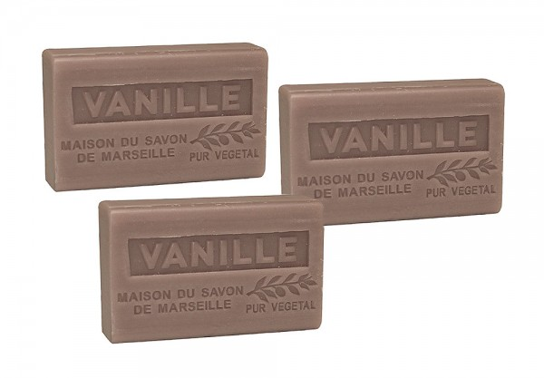 3 x Provence Seife Vanille - Karité 60g