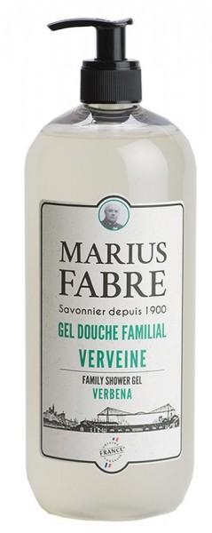 Marius Fabre Duschgel Eisenkraut (Verveine) Bio-Olivenöl 1L