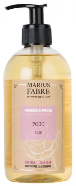 Marius Fabre Flüssigseife Rose mit Bio-Olivenöl 400ml