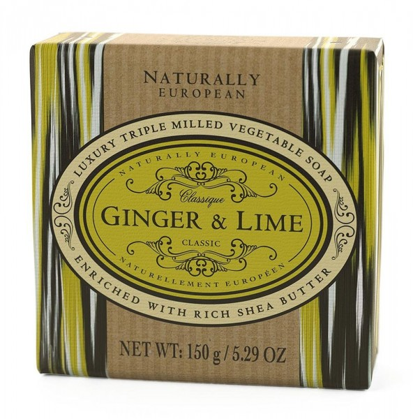 Naturally European Seife Ginger & Lime 150g
