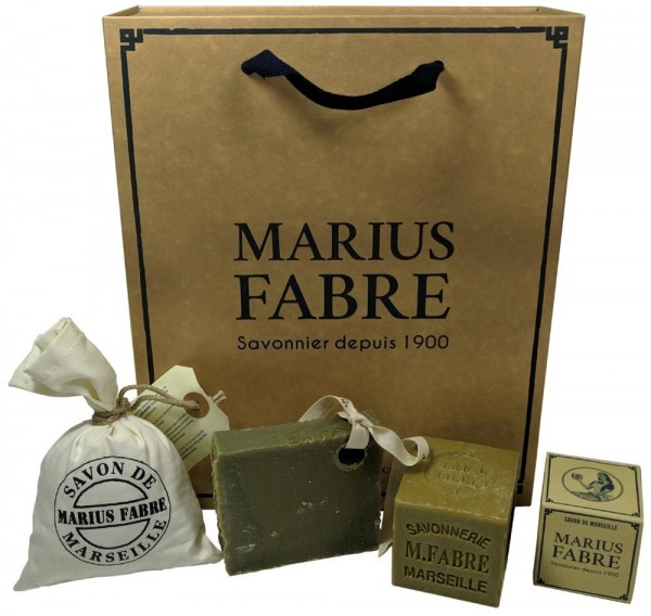 Marius Fabre Savon de Marseille NATURE Geschenk-Set