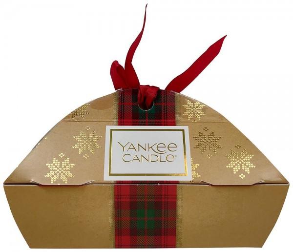 Yankee Candle Geschenkset Alpine Christmas mit 3 Votivkerzen