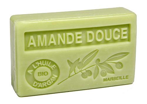 Bio-Arganöl Seife Amande Douce (Süße Mandel) - 100g