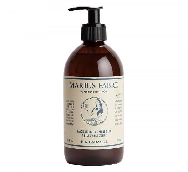 Marius Fabre Flüssigseife Pinie (Pin Parasol) Bio-Olivenöl 500ml