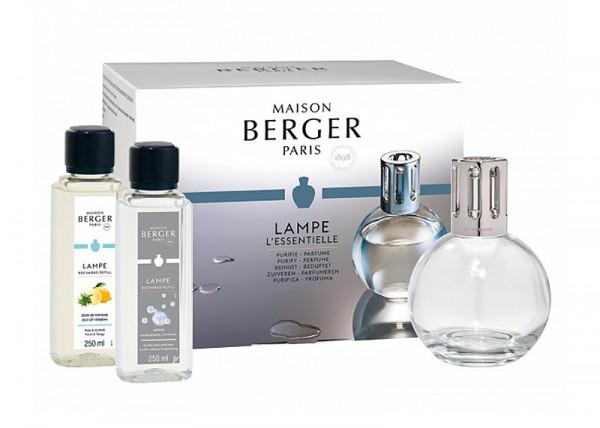 Maison Berger Duftlampe Essentielle Ronde Set + 2 Düfte Geschenkset