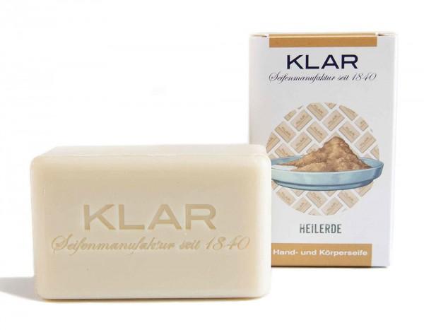KLAR Heilerdeseife (palmölfrei) Hand- und Körperseife 100g