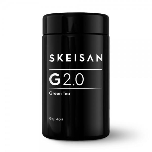 Skeisan G 2.0 Grüntee Goji Açaí im Glastiegel 70g