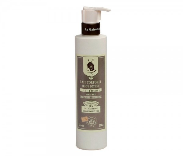Körpermilch Bio Eselsmilch Extra 10% (Lait d'Anesse) 250ml