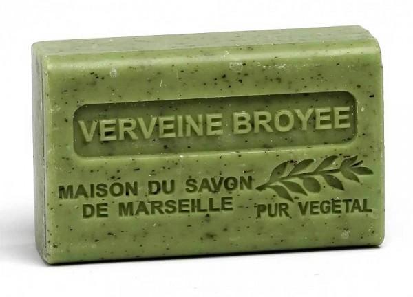 Provence Seife Verveine Broyee (Eisenkraut) - Karité 125g