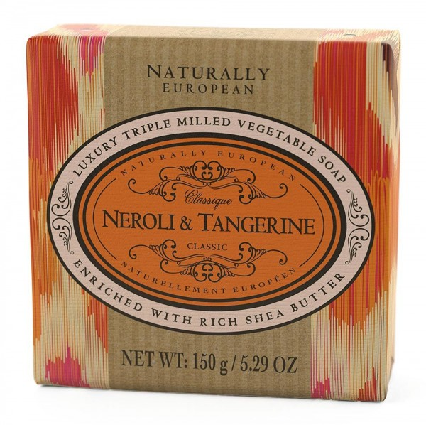 Naturally European Seife Neroli & Tangerine 150g