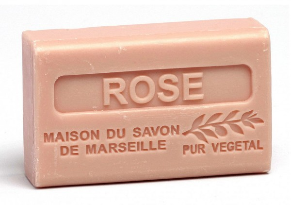 Provence Seife Rose (Rosenduft) - Karité 125g