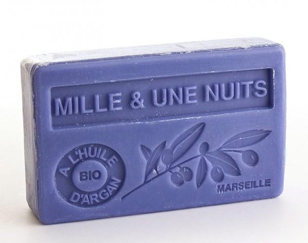 Bio-Arganöl Seife Mille & Une Nuits (1001 Nacht) - 100g