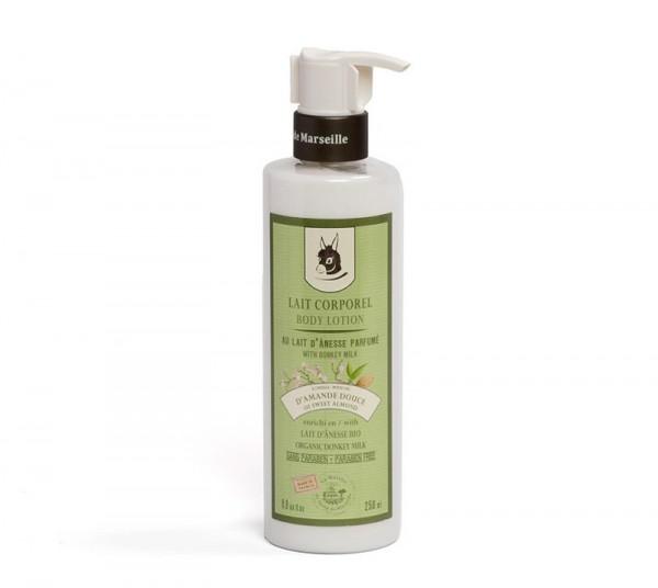 Körpermilch Amande Douce (Süße Mandel) mit Bio Eselsmilch 250ml
