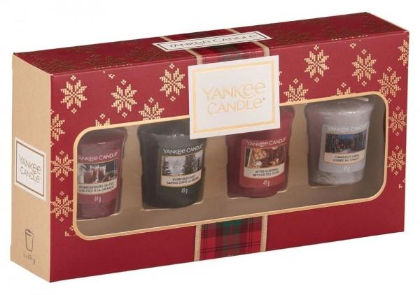 Yankee Candle Geschenkset mit 4 Votivkerzen