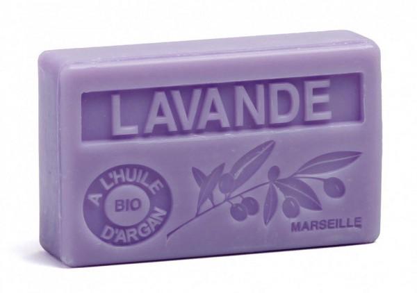 Bio-Arganöl Seife Lavande (Lavendel) - 100g