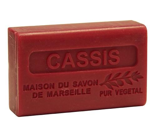 Provence Seife Cassis (Schwarze Johannisbeere) - Karité 125g