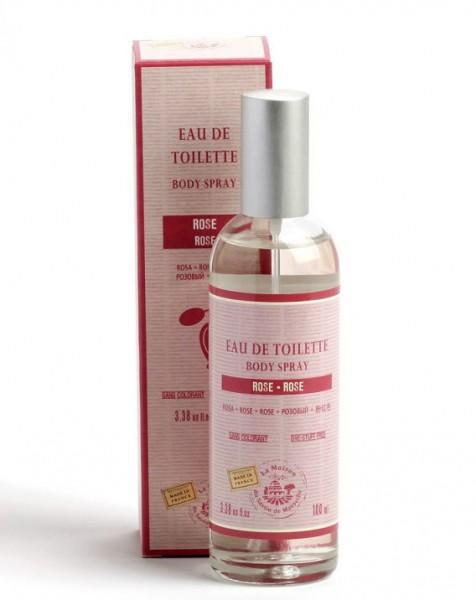 Eau de Toilette de Grasse - Rose - Spray 100ml