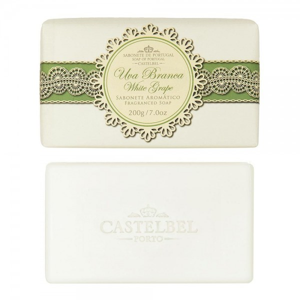 Castelbel Gourmet Seife White Grape (Weiße Traube) Olivenöl-Seife - 200g