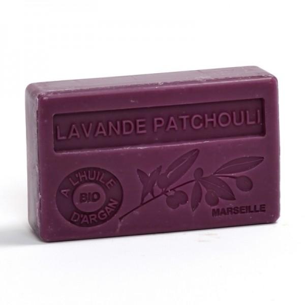Bio-Arganöl Seife Lavande Patchouli - 100g