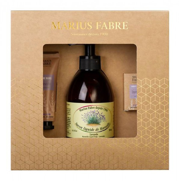 Marius Fabre Savon de Marseille Lavender Beauty Geschenk-Set